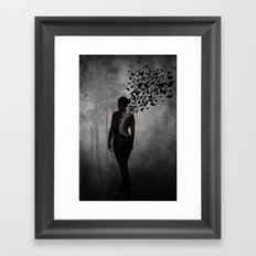 The Butterfly Transformation Framed Art Print