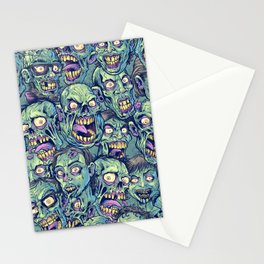 Zombie Repeatable Pattern Stationery Cards