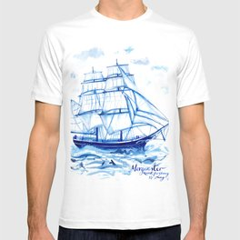 Set the sails! All aboard the Morgenster T-shirt