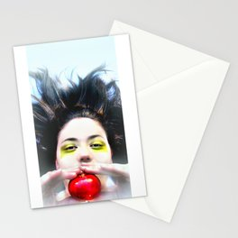 """""""Eve and Fruit"""" (apple) Stationery Cards"""