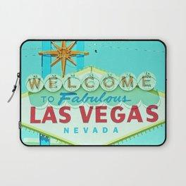 Vintage Vegas Sign - Las Vegas Sign Laptop Sleeve