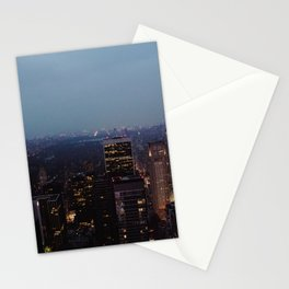 NYC Night Lights Stationery Cards