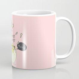#Hatched Pink Coffee Mug