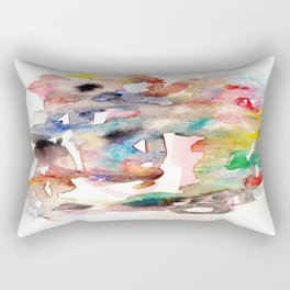 Watercolor 758 ing Rectangular Pillow