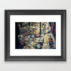Jumbled Thoughts Framed Art Print
