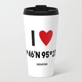 I LOVE HOUSTON Travel Mug