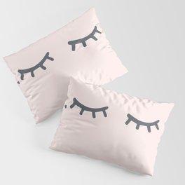 Bashful Lashful Pillow Sham
