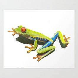 Froggi Art Print