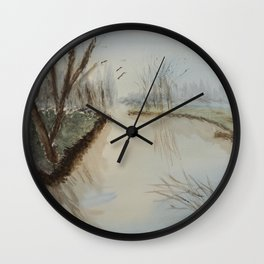 Peaceful place Wall Clock