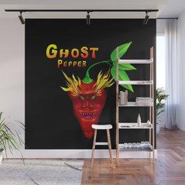 Ghost Pepper. Wall Mural