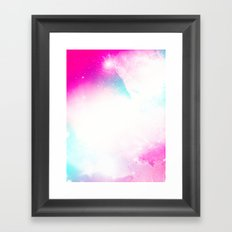 Space Remix Framed Art Print