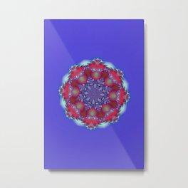 mandala art -102- Metal Print