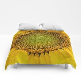 Sunshine sunflower Comforters