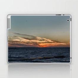 Summer sunset on lake Ontario Laptop & iPad Skin