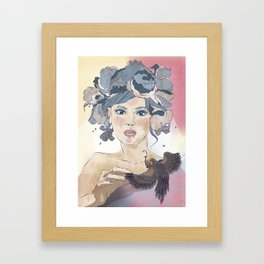 Never a bride Framed Art Print