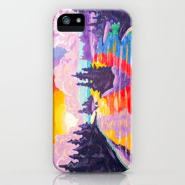 80's SUNDOWN iPhone Case