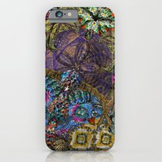 Psychedelic Botanical 8 iPhone 6s Slim Case