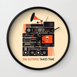 Jim Guthrie Takes Time Wall Clock