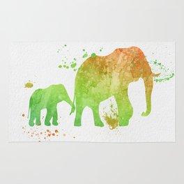 Elephants 020 Rug