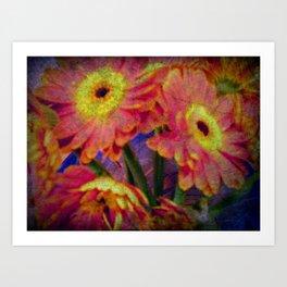 Cemented Flowers Art Print