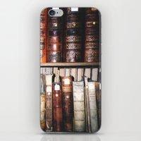 literature iPhone & iPod Skins featuring Art & Literature by czossi