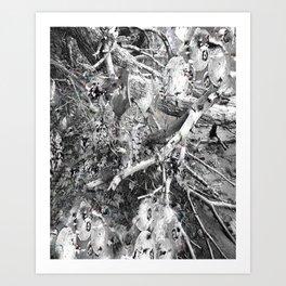 Apple Trees Art Print