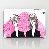 vampire iPad Cases featuring Vampire by Luana Rios