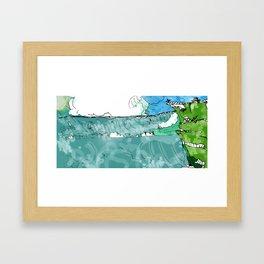 er34rq Framed Art Print