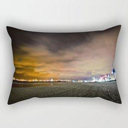 Korean Beach Night Rectangular Pillow