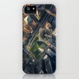 Above the One World Trade Center iPhone Case