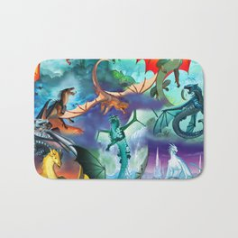 Wings Of Fire Character Bath Mat