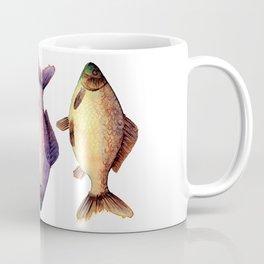 Three colorful fishes Coffee Mug