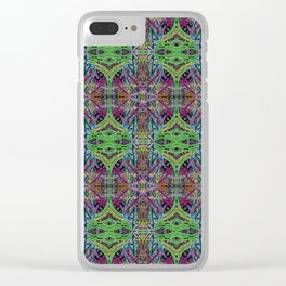 Pastel threads Clear iPhone Case