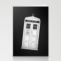 doctor who Stationery Cards featuring DOCTOR WHO by John Medbury (LAZY J Studios)