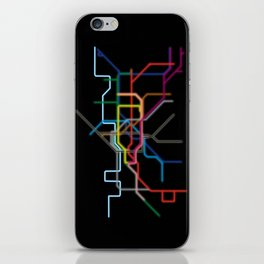 London: Neon Underground iPhone Skin