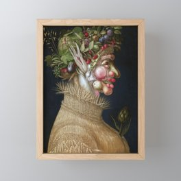 Giuseppe Arcimboldo Summer Framed Mini Art Print