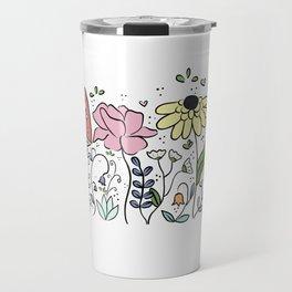 Saffron's garden Travel Mug