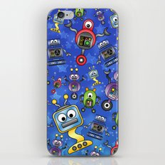 Little Robots  iPhone Skin