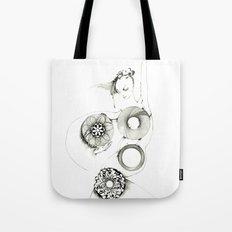 Danseuse Spiral Tote Bag