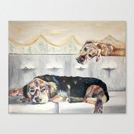 puppiez Canvas Print