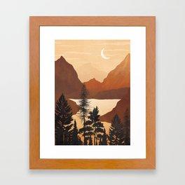River Canyon Framed Art Print