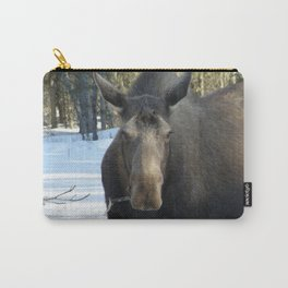Moose Munching Poplar Lunch Carry-All Pouch