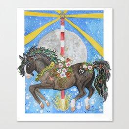 CLG Surfer's Blue Moon Canvas Print