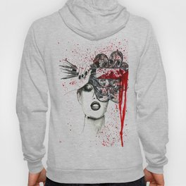 IF YOU CUT FLOWERS THEY DIE. STILL BEAUTIFUL BUT DEAD. Hoody