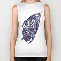 greg guillemin Biker Tanks featuring Abstract 2 by Greg Phillips by SquirrelSix