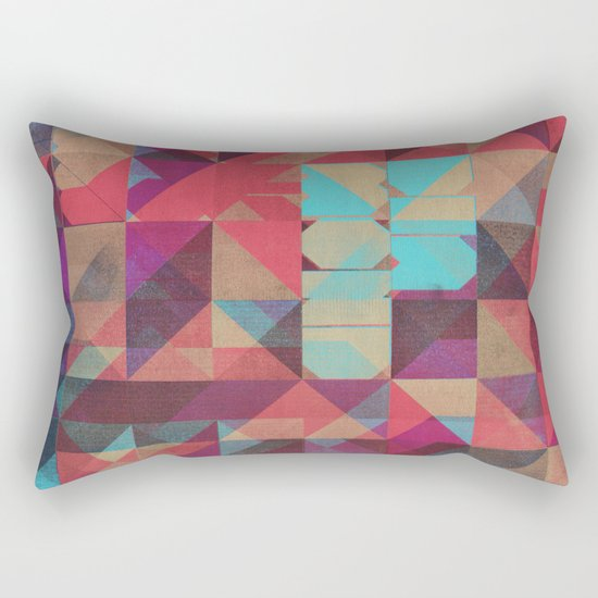 Risograph 1/Diamond Rectangular Pillow
