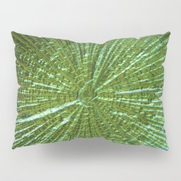 Emerald Ripple Pillow Sham