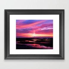 Red Haven Framed Art Print