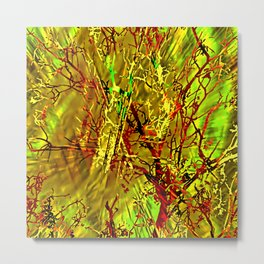 Branch Location Metal Print