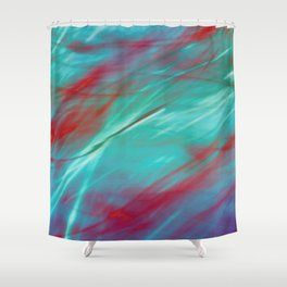 α Sirius Shower Curtain